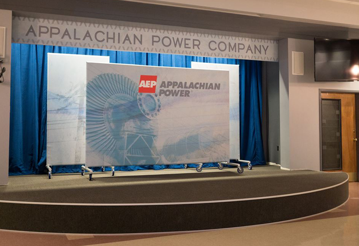 Appalachian Electric Power AEP Roanoke finished interior