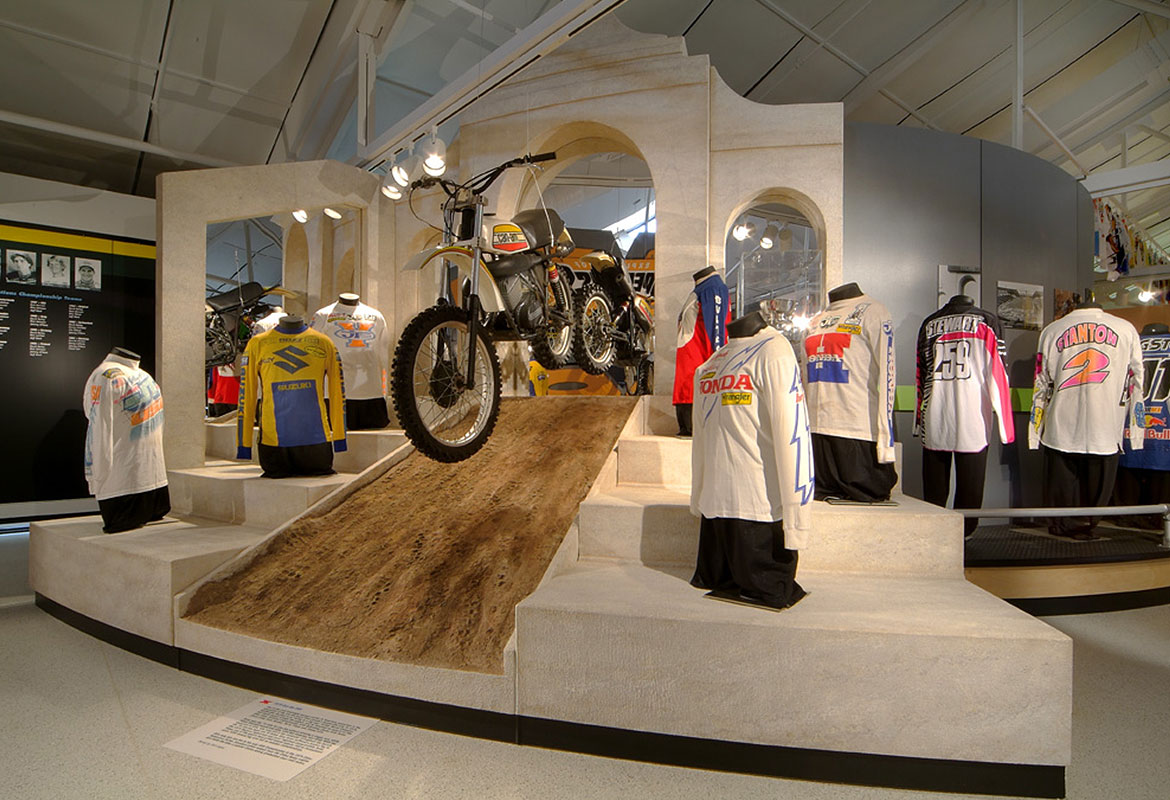 Motorcycle Hall of Fame Museum Motocross America x dome