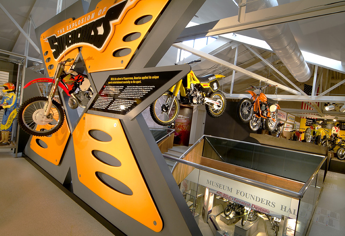 Motorcycle Hall of Fame Museum Motocross America x
